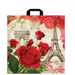 Пакет с петлевой ручкой Париж