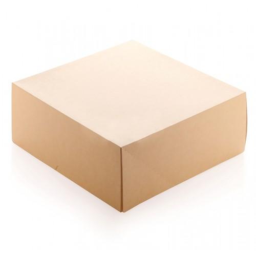 Коробка ЭКО для торта 25,5х25,5х10,5см