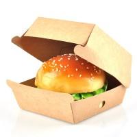 Короб под гамбургер 120х120х70 Крафт