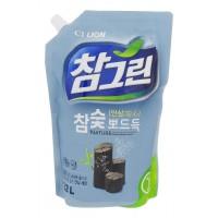Chamgreen ДРЕВЕСНЫЙ УГОЛЬ средство для мытья посуды, овощей и фруктов 1,2л
