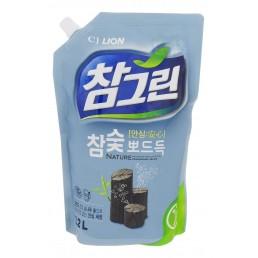 CHAMGREEN Средство для мытья посуды, овощей и фруктов 1,2л Древесный уголь