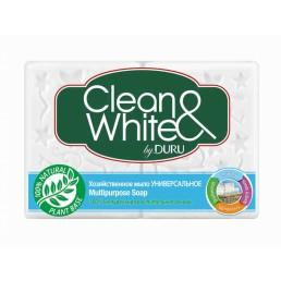 CLEAN&WHITE Мыло универсальное 4х125г
