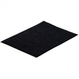 VORTEX коврик влаговпитывающий ребристый 60х90см черный