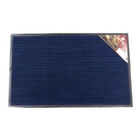 VORTEX коврик влаговпитывающий ребристый 40х60см синий