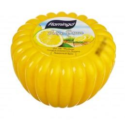 FLAMINGO Гелевый освежитель воздуха 150мл Лимонный бриз