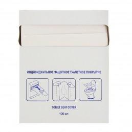 Индивидуальное защитное туалетное покрытие 100шт