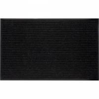 VORTEX коврик влаговпитывающий ребристый 50х80см черный