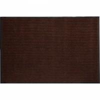 VORTEX коврик влаговпитывающий ребристый 60х90см коричневый