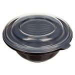 Миска суповая чёрная 350мл