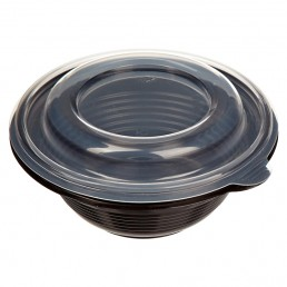 Миска суповая ПР-МС-350 чёрная 350мл