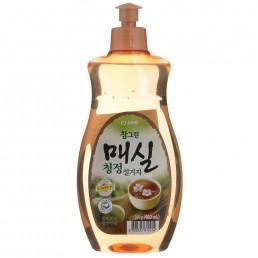 CHAMGREEN Средство для мытья посуды, овощей и фруктов 500г Японский абрикос