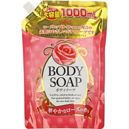 WINS BODY Крем-мыло для тела 1л Роза (м/у)
