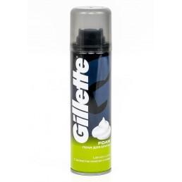 GILLETTE пена для бритья 200мл лимон лайм