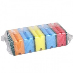 ПРОФИ-5 губка для мытья посуды 5шт