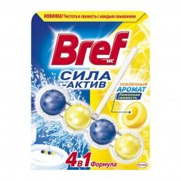 БРЕФ Сила-Актив туалетный блок 50г Лимонная свежесть