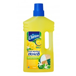 CHIRTON Средство для мытья полов 1л Лимон