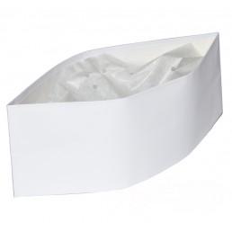 LEMIO Пилотка бумажная белая 28х8,5см 100шт