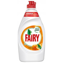 FAIRY Средство для мытья посуды 450мл Апельсин и лимонник