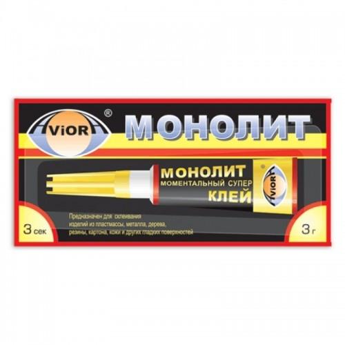 МОНОЛИТ Клей секундный 3г