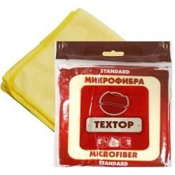 ТЕХТОР Салфетка из микрофибры 29х29см 1шт