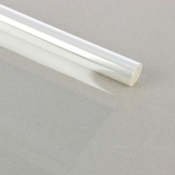 Пленка для цветов прозрачная 700 мм х 6 м, 200 гр, 40 мкм