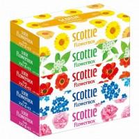 SCOTTIE FLOWERBOX Салфетки бумажные 2сл 200шт