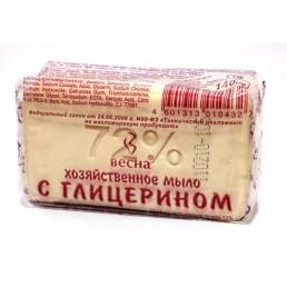 ВЕСНА мыло хозяйственное 72% с глицерином 140г