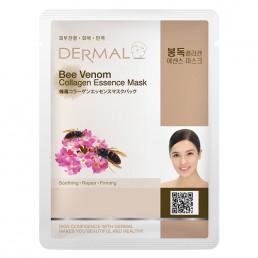 DERMAL Косметическая маска с коллагеном 23г Пчелиный яд