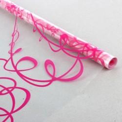 Пленка для цветов Невеста ярко-розовая 0,7х8,2м 40мкм