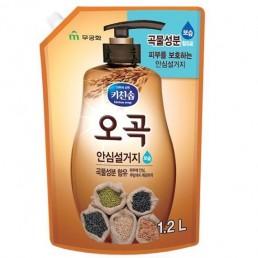 KITCHEN SOAP Жидкость для мытья посуды 1,2л 5 злаков (м/у)