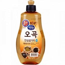KITCHEN SOAP Жидкость для мытья посуды 500мл 5 злаков