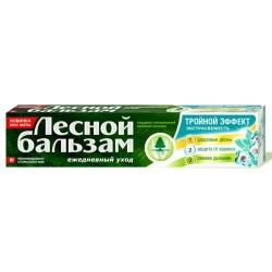 ЛЕСНОЙ БАЛЬЗАМ зубная паста 75мл тройной эффект