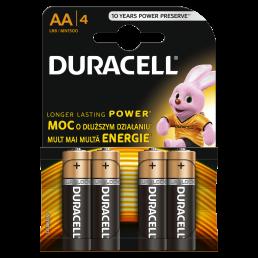 DURACELL Батарейки щелочные АА 4шт