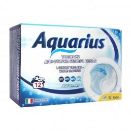AQUARIUS Таблетки для стирки белого белья 12шт