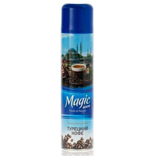 Magic BOOM освежитель воздуха 300мл турецкий кофе