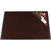 VORTEX коврик влаговпитывающий ребристый 40х60см коричневый