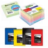Тетради, блокноты, бумага для заметок