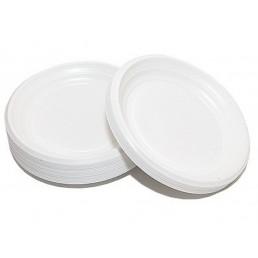 Тарелка одноразовая д-205 100шт