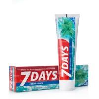 7 DAYS зубная паста 100мл свежая мята