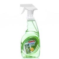 HAUS FRAU Средство для мытья окон и зеркал 750мл Яблоко