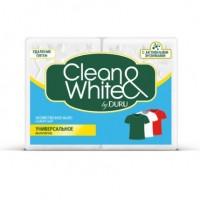 CLEAN&WHITE мыло универсальное 2х125г