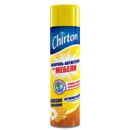 CHIRTON Полироль-антистатик для мебели 500мл Классик с воском