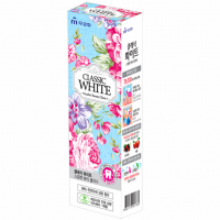 CLASSIC WHITE Зубная паста 110г Ягоды и мята