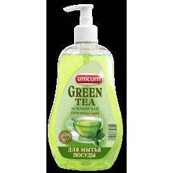 УНИКУМ Средство для мытья посуды 550мл Зеленый чай
