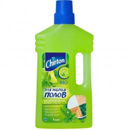 CHIRTON для мытья полов 1л лайм и мята
