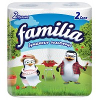 FAMILIA Бумажные полотенца 2сл 2рул