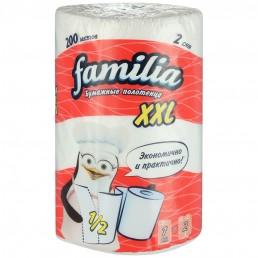 FAMILIA Бумажные полотенца XXL 1рул 200л