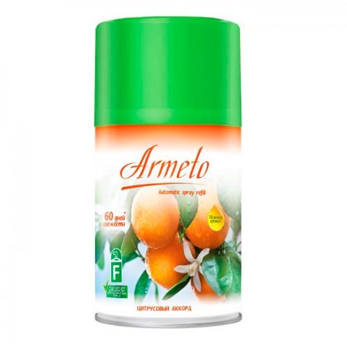ARMETO Универсальный сменный аэрозольный баллон 250мл Цитрусовый аккорд