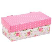 Коробка подарочная складная 26х14х10см цветочная радость арт 2870913
