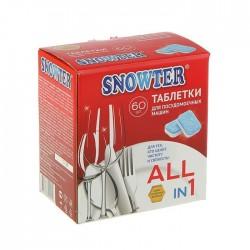 SNOWTER Таблетки для посудомоечных машин 60шт